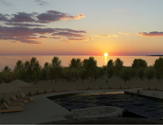 Sunset Render