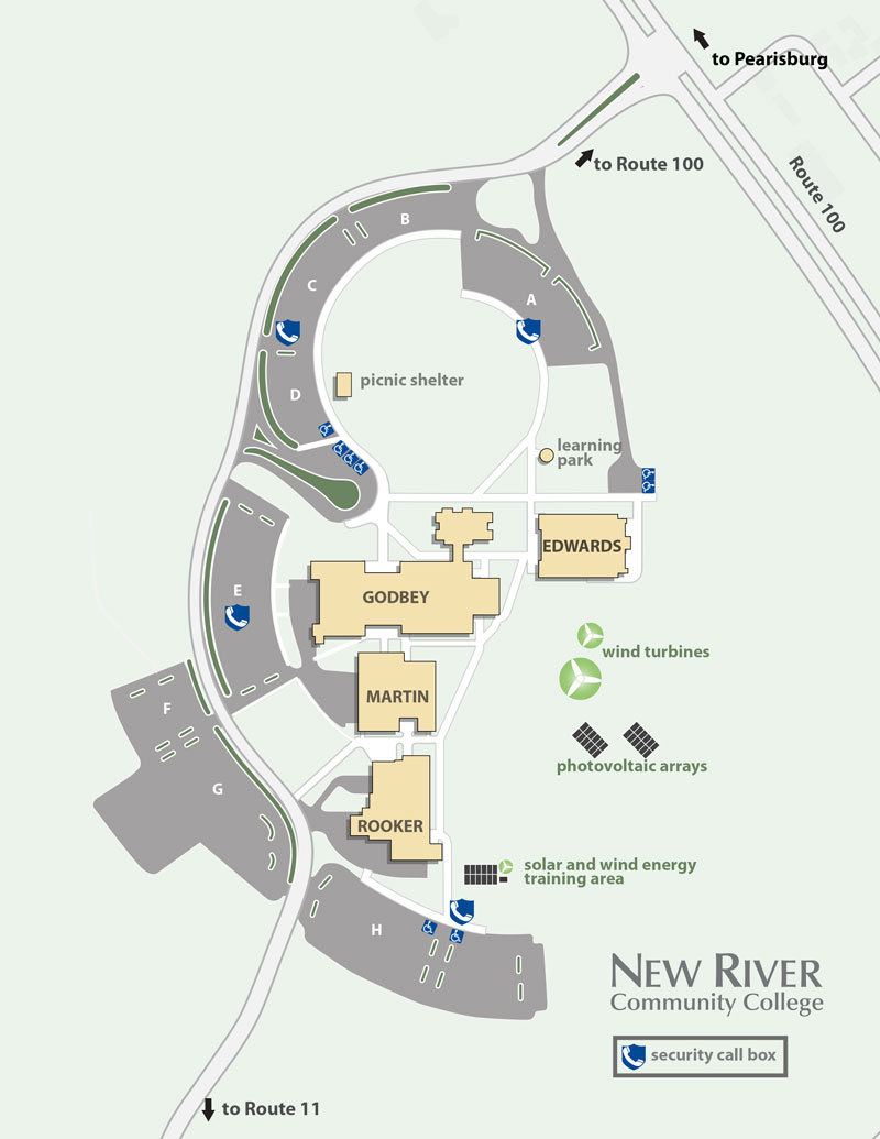 Maps & Directions | New River Community College | 07/19/2019 10:11 Dublin Map Directions on